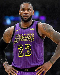 Lebron James, Forbes-Liste 2019, Sportler