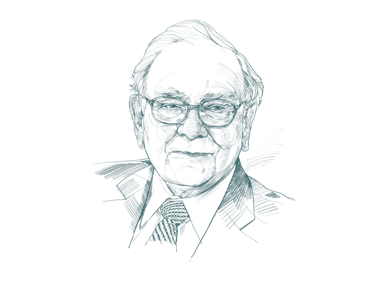 Bild: Warren Buffet, Berkshire Hathaway, Blockchain