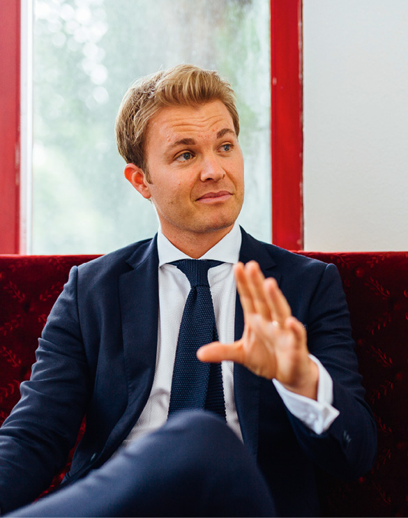 Interview, Nico Rosberg, Formel 1