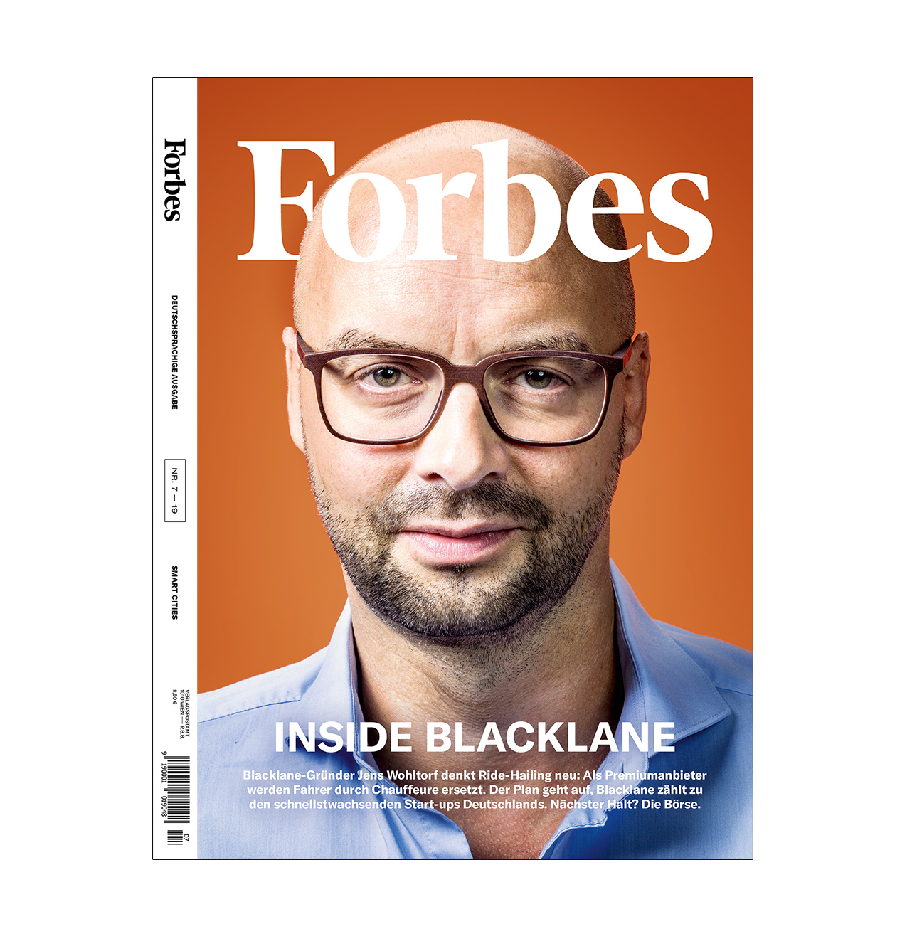 Forbes, Cover, Juli, August, 2019, Blacklane